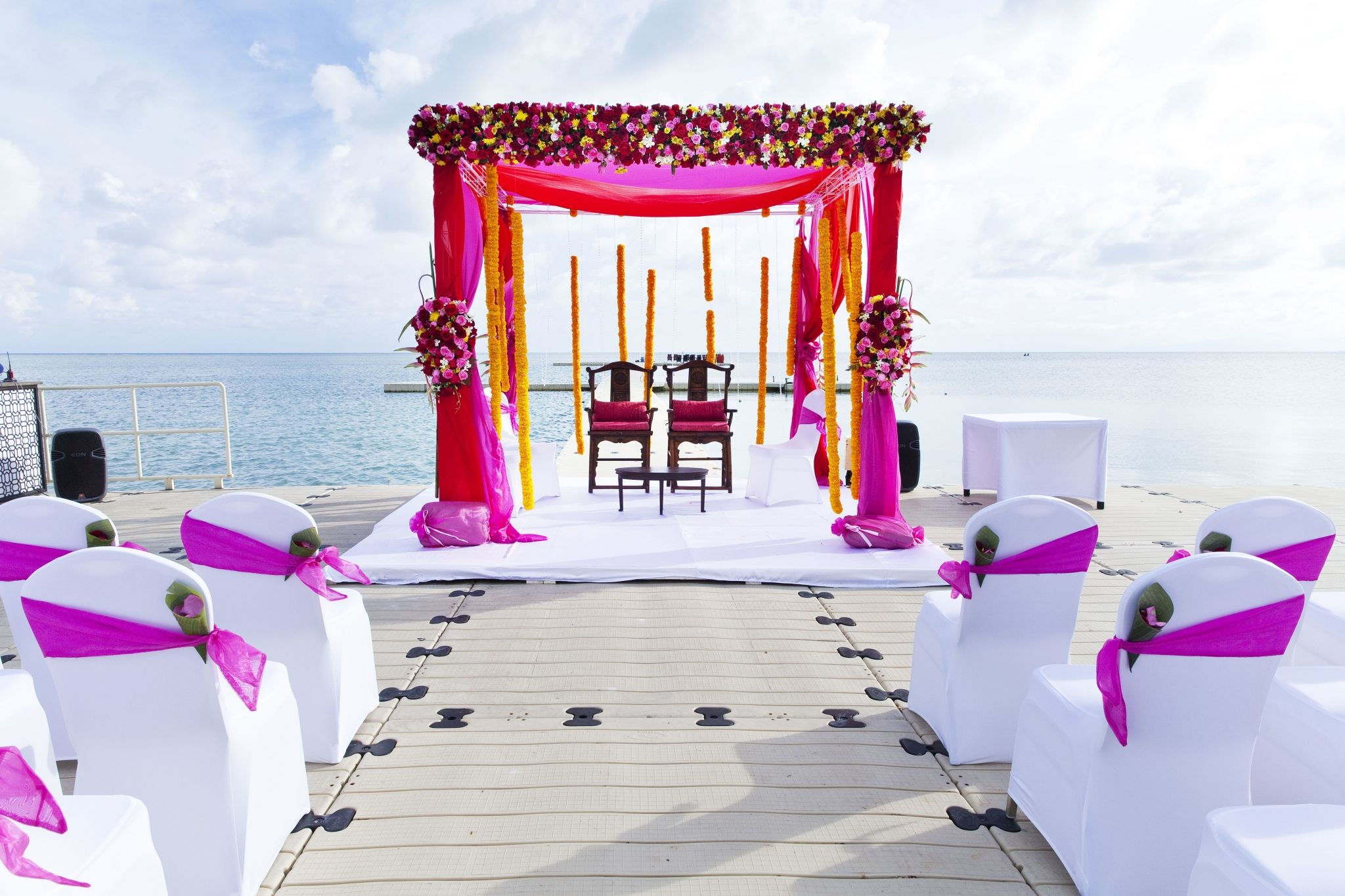 Indian Wedding at Ocean Pier