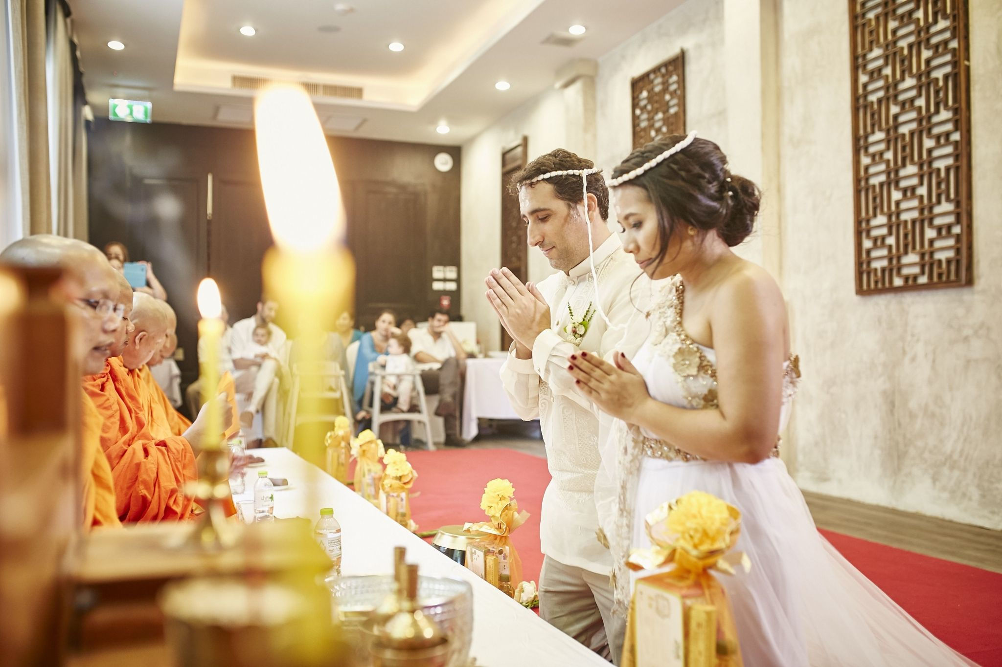 Thai Wedding at Discovery Room